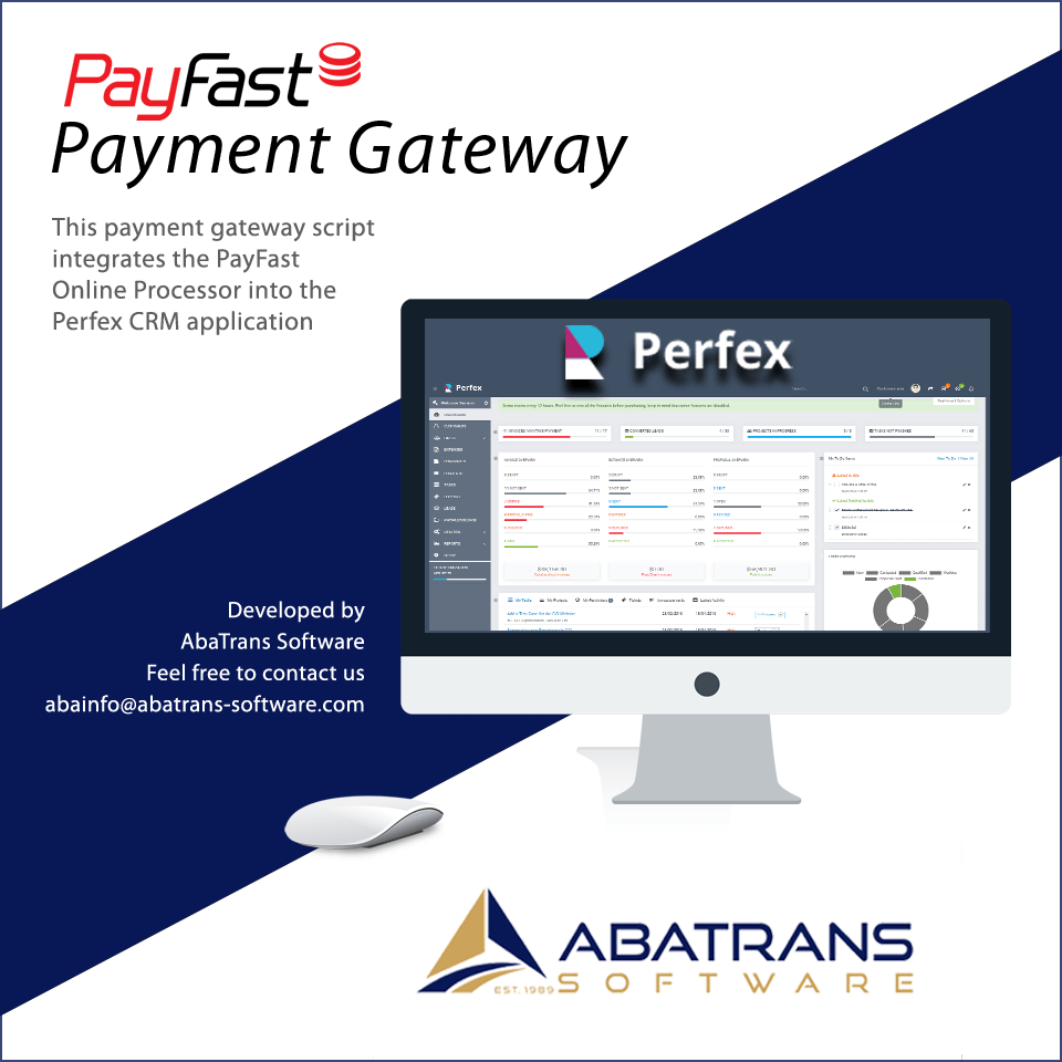 PayFast Gateway for Perfex CRM